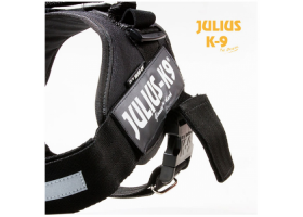 IDC Police harness -black- with safety buckle!