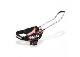 IDC blind guide dog harness, red