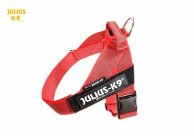 IDC color & gray belt harnesses, RED