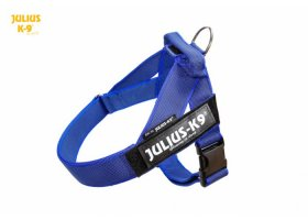 IDC color & gray belt harnesses, BLUE