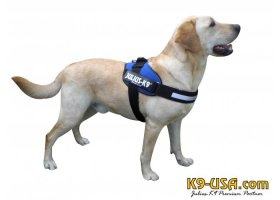 Julius K9-IDC powerharnesses -blue-