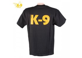 K-9 label T-shirt, black