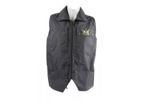 K9 waistcoat, cotton, impregnated, black