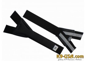 Y-strap, padded, reflective, for all harnesses size minimini - 3 mini-mini/mini