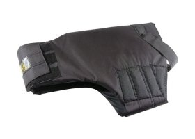 Shank/Stab resistant vest for service dogs with pressure distributor